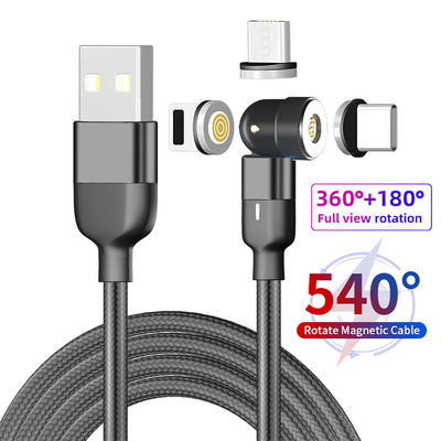 2M Fast Charging Magnetic USB C Cable