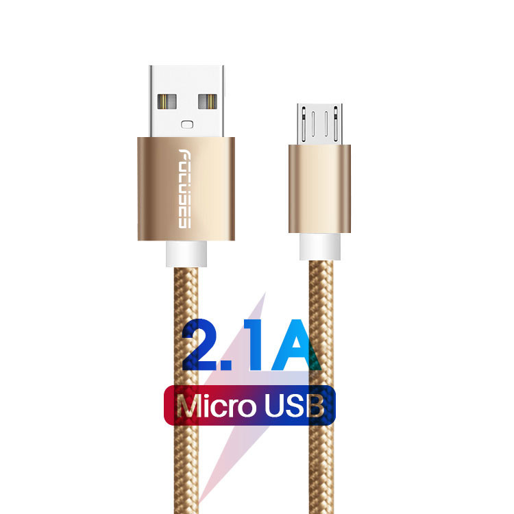 Data Transmission 2.1A Type A To Type C USB Cable extra long