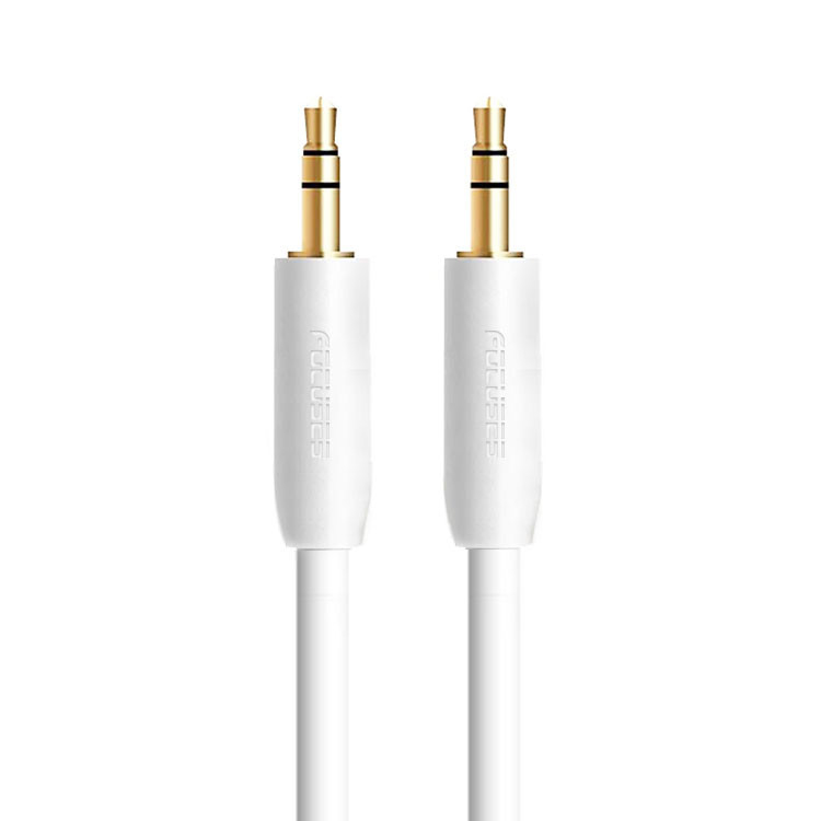 OEM PVC 3.5 Mm Audio Jack To Aux Cable Wire Gold Plated Audio Auxiliary Cord